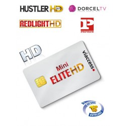 Elite HD Mini - REDLIGHT + Dorcel + SCT 4 canales 1 año