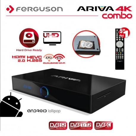 7% de descuento en Ferguson Ariva 4k UHD + Android