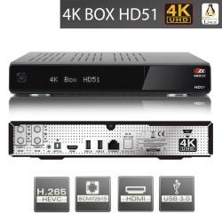AX 4K-BOX HD51 UHD 2160p E2 Linux