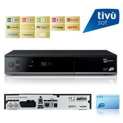 FUBA ODE713 HD Tivu SAT + Tarjeta