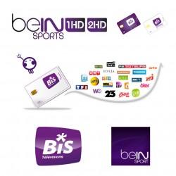 Tarjeta BIS-Beinsports FRANCE 1 año
