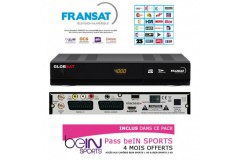 FRANSAT TNT FRANCE con Bein Sports Receptor HD PVR + Tarjeta