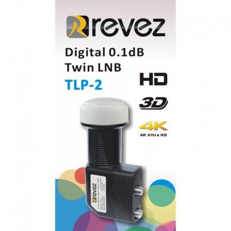LNB TWIN REVEZ - TLP-2 - 0,1dB