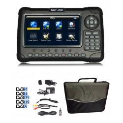 Satlink 6980 Profesional DVB-S2/T2/C/ Fibra Optica