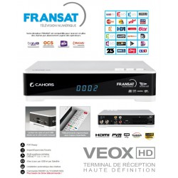 FRANSAT TNT FRANCE HD PVR VEOX - Tarjeta + Receptor