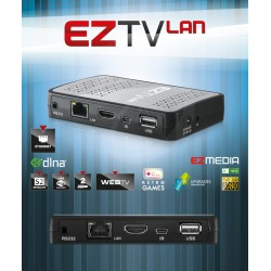 EVO EZTV LAN HD Hybrid Satellite