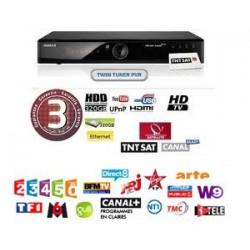 TDT FRANCIA - Tarjeta + Receptor HD con Disco Duro