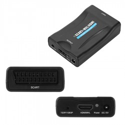 Conversor Euroconector a HML - HDMI - Scart to HDMI