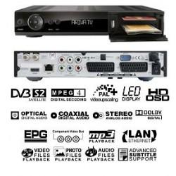 Ferguson Ariva 202E HD PVR - USB, LAN, 1x Smartcardreader CI