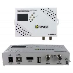 Modulador HD Revez HD400MOD HDMI DVB-T