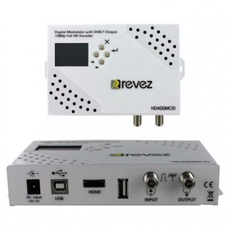 Modulador Revez HD400MOD HDMI DVB-T
