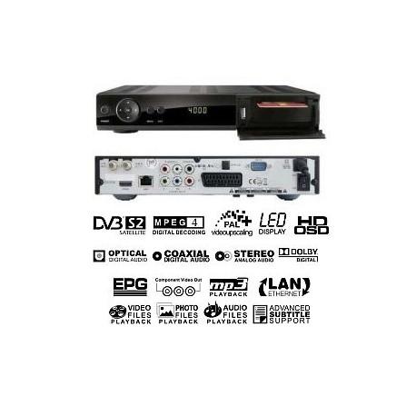 Ferguson Ariva 102E HD PVR - USB, LAN, Smartcardreader