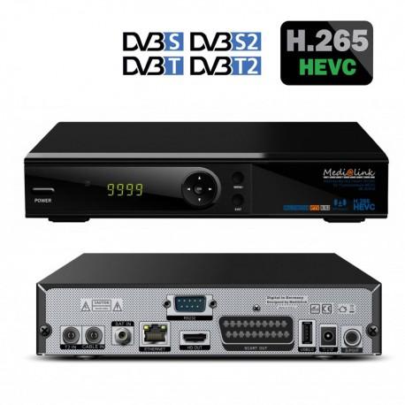 MEDIALINK SMART HOME ML 6500S COMBO HEVC- H265 WIFI