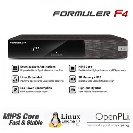 FORMULER F4 LINUX ENIGMA2 WIFI