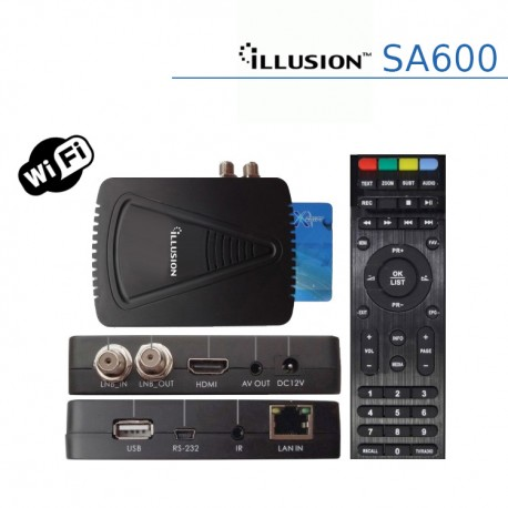 illusion SA600 WIFI