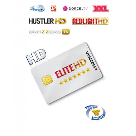 Elite 9 STARS HD Hotbird 9 canales 1 año