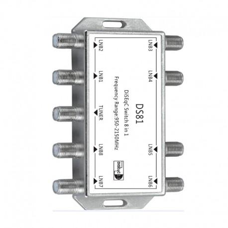Conmutador DiSEqC  8x1
