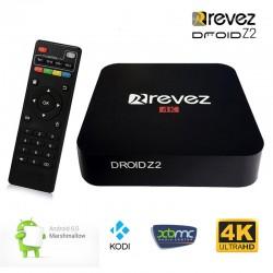 Revez Droid Z2 4K Kodi Android 6.0 TV Box
