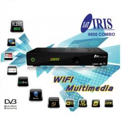 IRIS 9800 HD COMBO HEVC WIFI