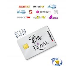 Elite Royale HD Hotbird 15 Canales 1 Año