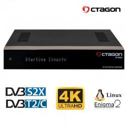OCTAGON SF4008 QUAD 4K Linux E2 UHD 2160p (DVB-S2X)