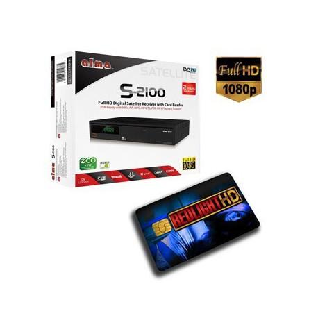 Elite 7 STARS HD Hotbird 7 Canales + Receptor FULL HD
