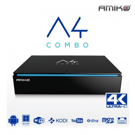 AMIKO A4 COMBO 4K Android