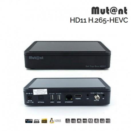 Mutant HD11 H.265 Full HD Enigma2