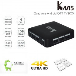 Acemax Km5 Android 4K OTT