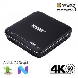 Revez Droid Z3 M8S pro+ 4K Android 7