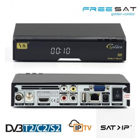 Freesat V8 Golden Combo
