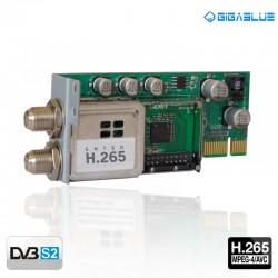 Tuner DVB-S2 (H.265) - GigaBlue HD X2 & UHD 4K