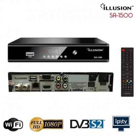 Illusion SA 1500 Wifi SAT+IPTV