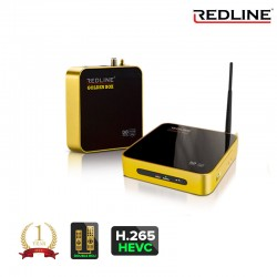 Redline Goldenbox H.265 WIFI LAN Youtube CA Full HD Sat Receiver