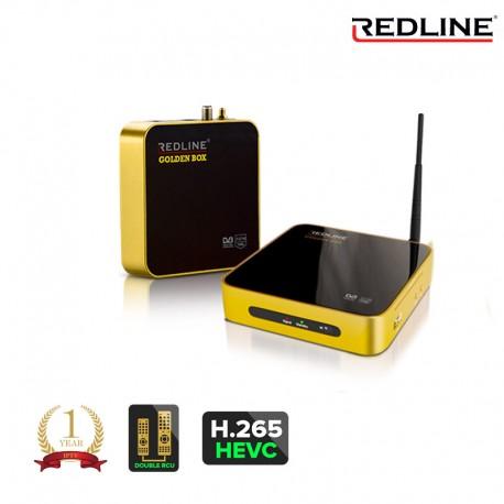 Redline Goldenbox H.265 WIFI LAN Youtube CA Full HD Sat Receiver