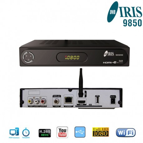 Iris 9850 HD Wifi