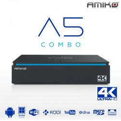 Amiko A5 Combo 4K Android - Enigma2