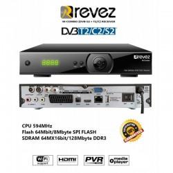Revez M-Combo HD SAT+T2+Cable