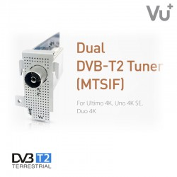 Tuner VU+ Dual DVB-T2 (MTSIF)