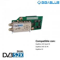 Tuner DVB-S2X Dual Gigablue