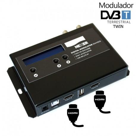 Modulador HD TWIN 2 entradas