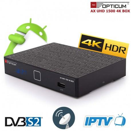 AX UHD 1500 4K