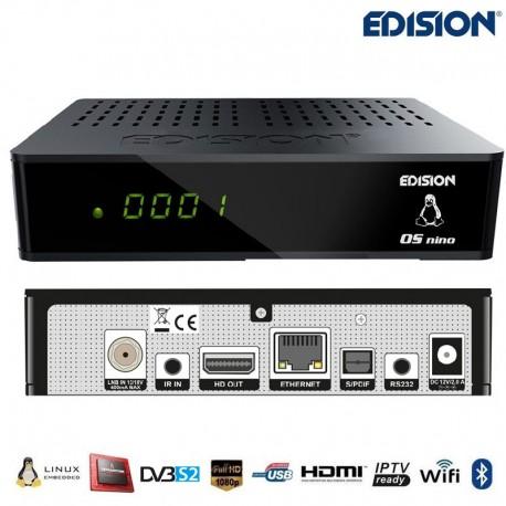 Edision OS NINO DVB-S2 + DVB-T2/C