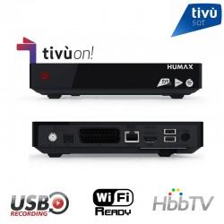 TivùSat: Humax TivuMax Pro + Tarjeta