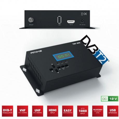 Modulador HD DVB-T2