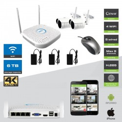 Kit Videovigilancia - CCTV KIT Amiko WiFi