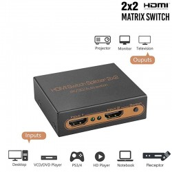 HDMI Matriz 2x2 4K