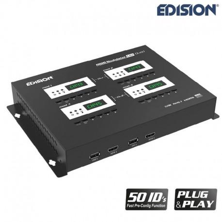 Modulador HDMI Quad Edision