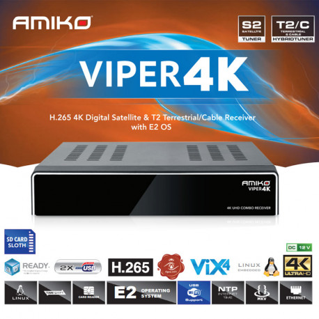 AMKO 4K Viper Combo Enigma2
