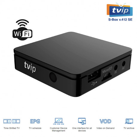 TVIP  S-BOX V 412 SE WIFI